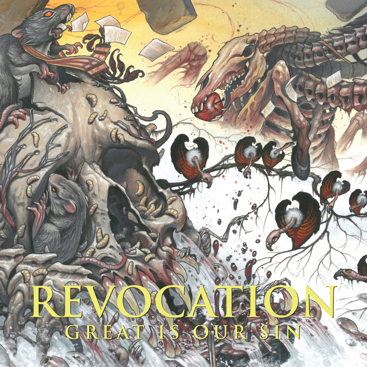"""REVOCATION Debut Lyric Video For """"Crumbling Imperium"""""""