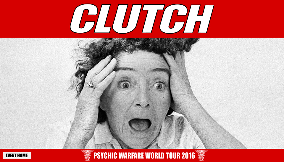 Clutch Fall Dates Announced With Kyng & Zakk Sabbath