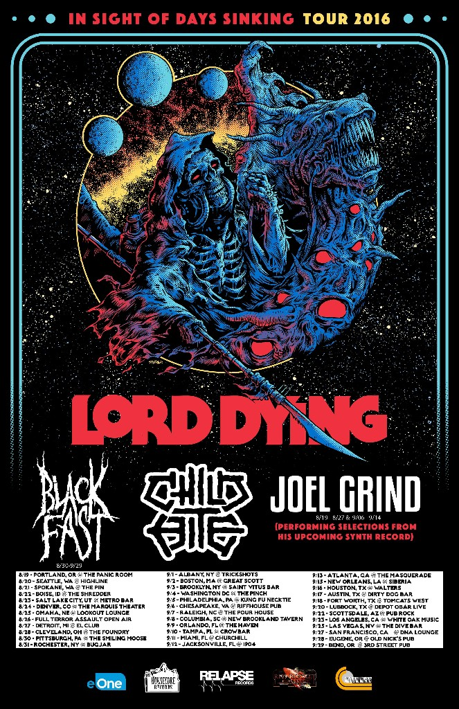 Lord Dying Announce Headlining USTour