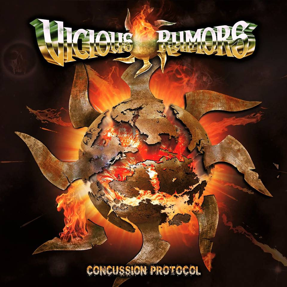 Vicious Rumors To Release New Album Concussion Patrol August 26th on SPV/Steamhammer‏