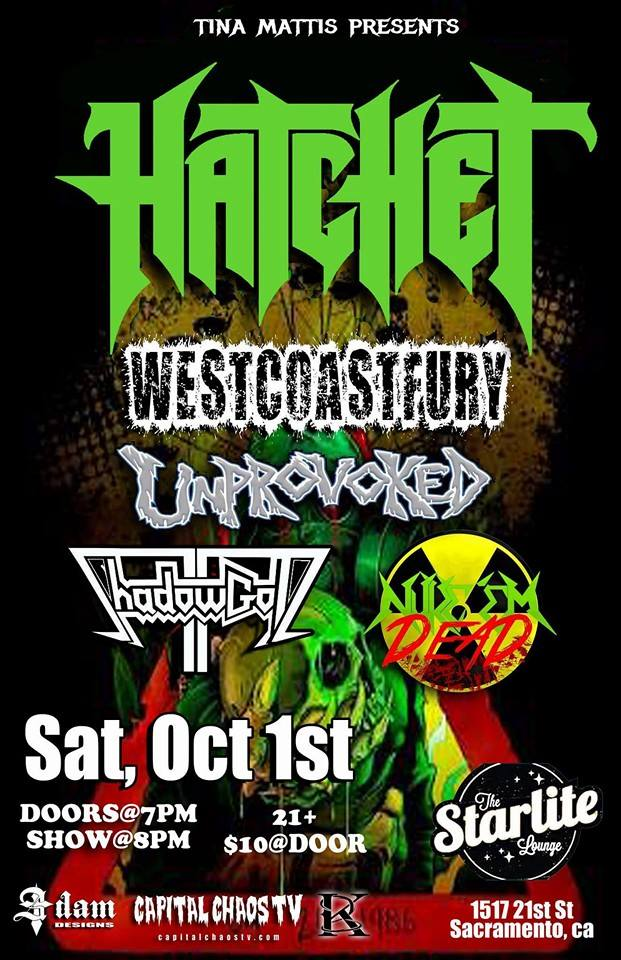 Hatchet Perform Classics In Sacramento, California