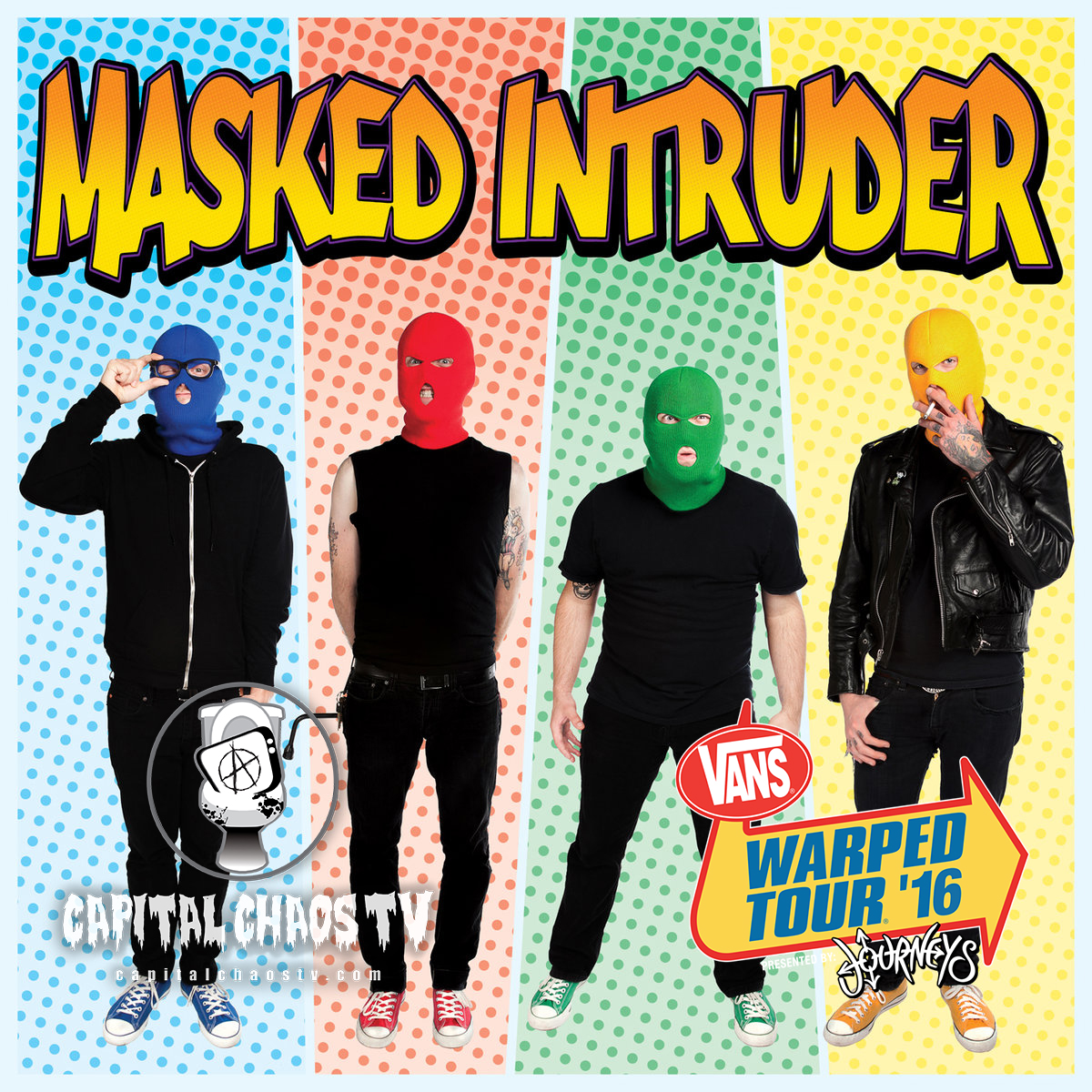 Masked Intruder Interviewed @ Vans Warped Tour216