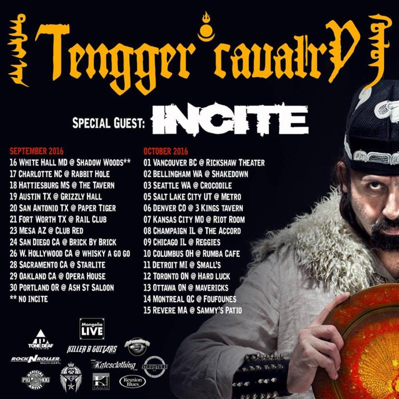 Tengger Cavalry Begins North American Headline Tour