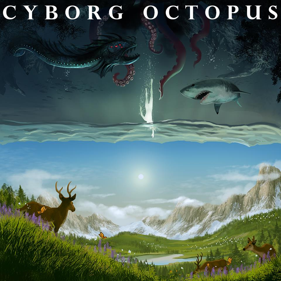 Cyborg Octopus Ink Deal With New Indie Label Apewhale Entertainment