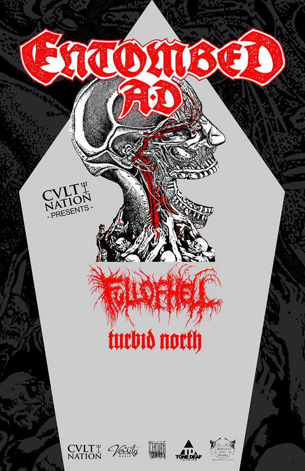 "Entombed A.D. launch video for ""Dead Dawn;"" North American tour dates announced."