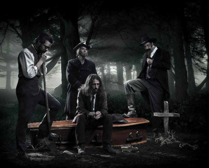 The Pine Box Boys: The Feast Of Three Arms By Bay Area Horrorbilly/Bluegrass Bandits  Album Out ThisWeek