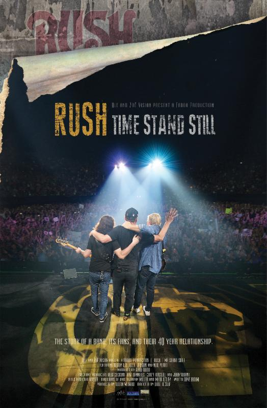 'Rush   Time Stand Still' Rocks U.S. Cinemas on November 3 Only, Featuring Exclusive Bonus Content and Narration by PaulRudd