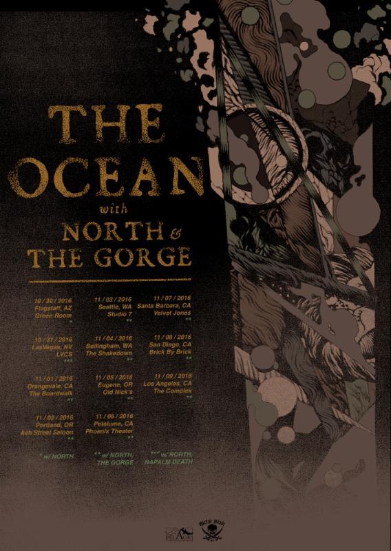 The Ocean To Kick Off US West Coast LiveTakeover