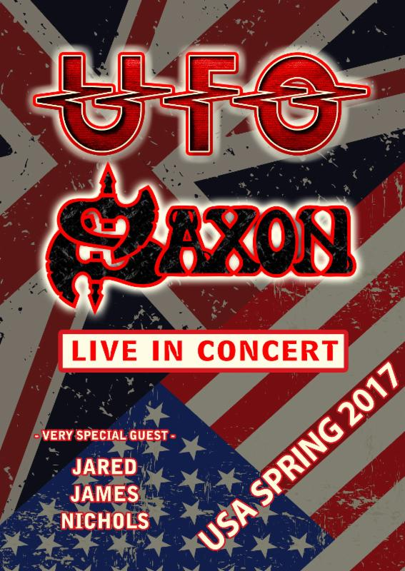 UFO and Saxon Announce Spring US Tour – The British Invasion2017!