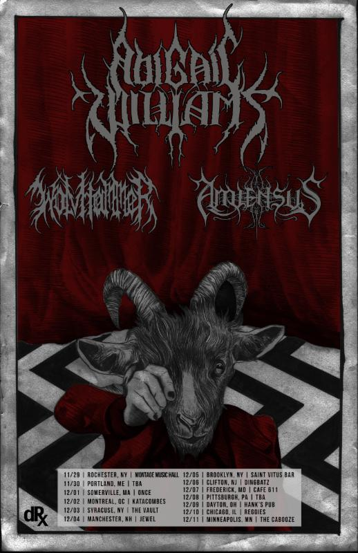 Wolvhammer North American Tours With Tombs, Abigail Williams Confirmed For The FallMonths