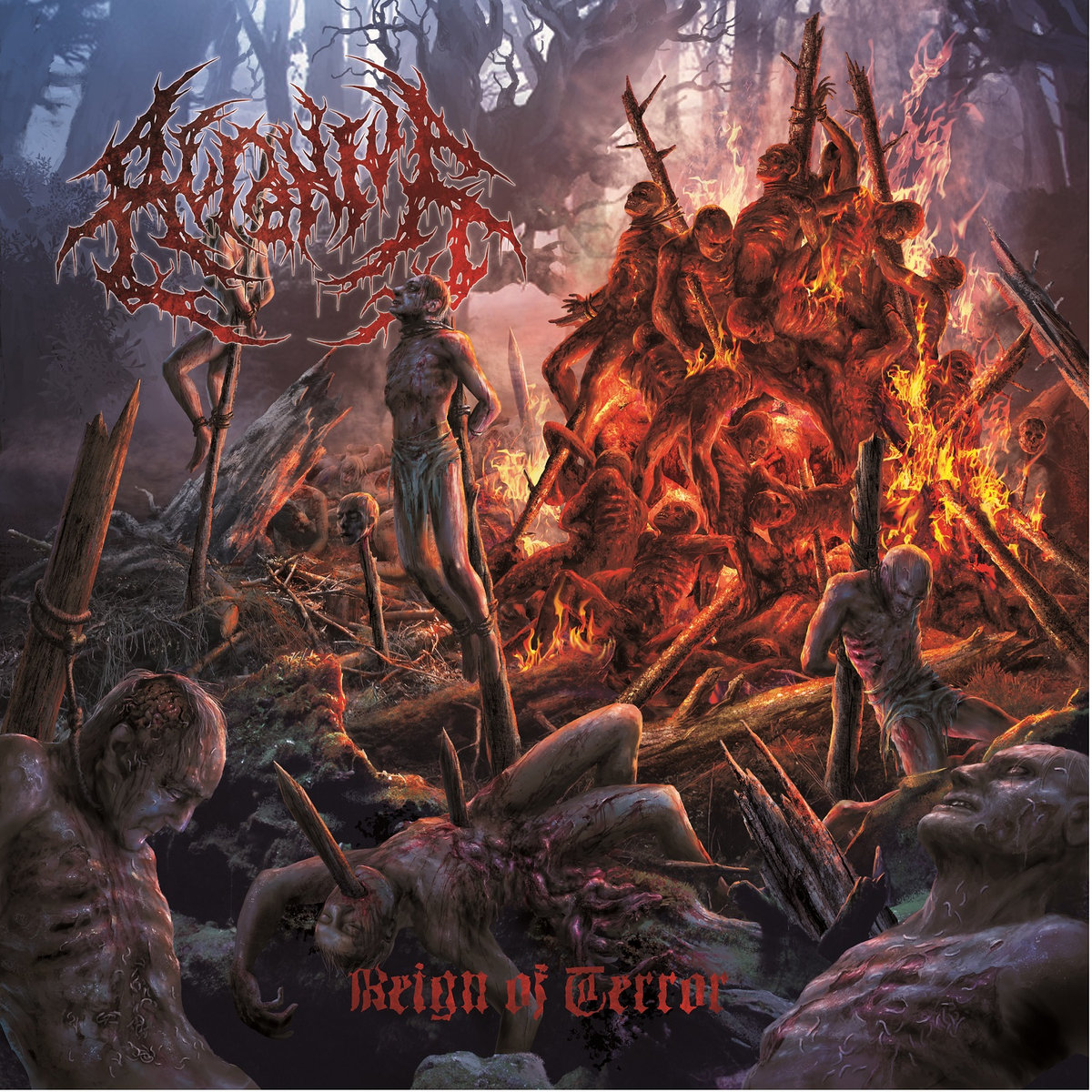 Brutal Slam Death Unit Acranius Announce New Album Reign OfTerror