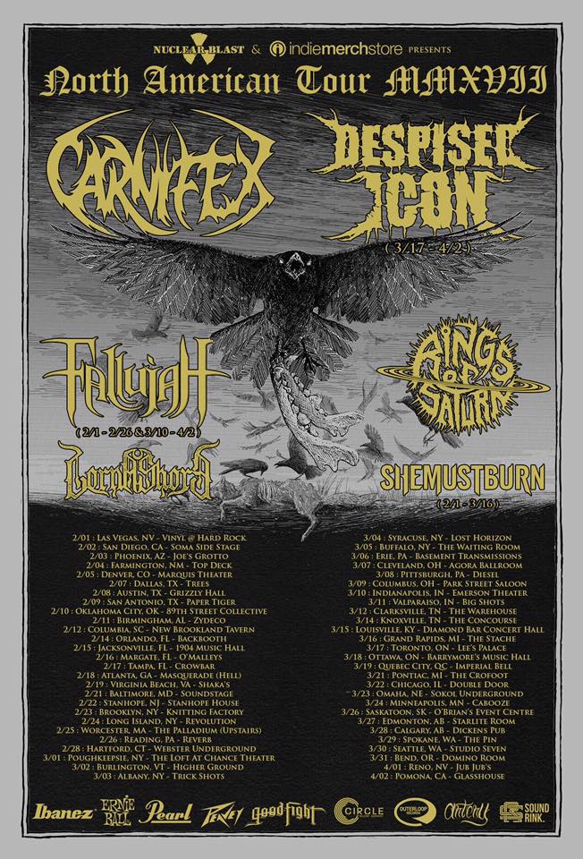 Lorna Shore to Join Carnifex on North AmericanTour