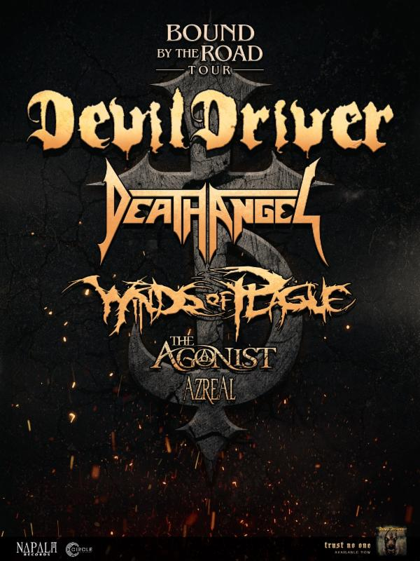 "Devildriver to Headline Next Year's ""Bound By The Road"""