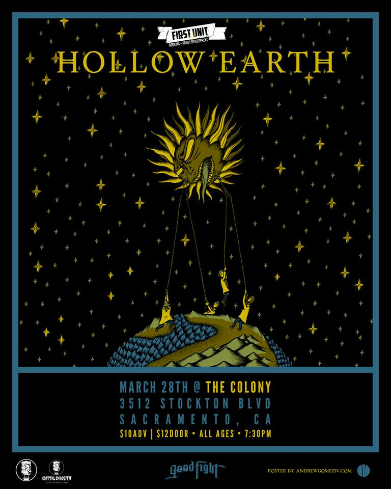 Hollow Earth Announce Spring 2017 North AmericanTour