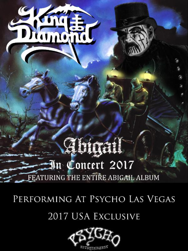 King Diamond Confirmed To Headline Psycho Las Vegas2017