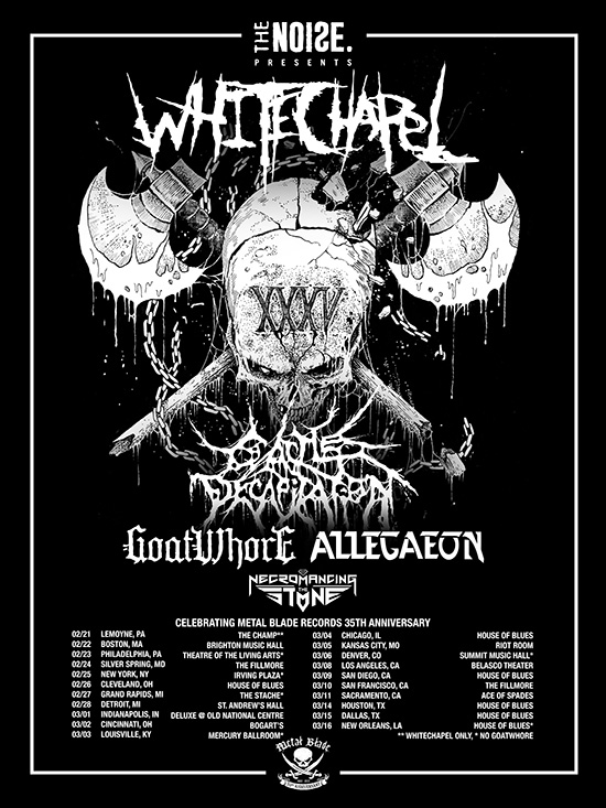 Goatwhore kicks off USA tour celebrating Metal Blade Records' 35thanniversary
