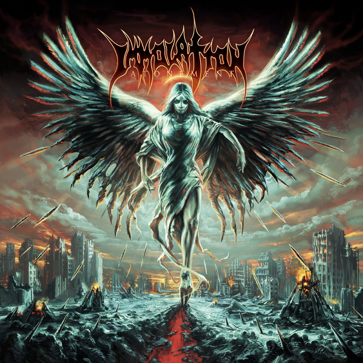 """Robert Vigna of Immolation """"You're going to have to atone for those sins for sure, no doubt aboutthat."""""""