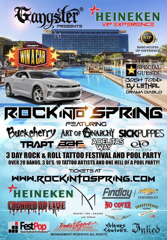 2017 Rock Into Spring FestivalAnnounced