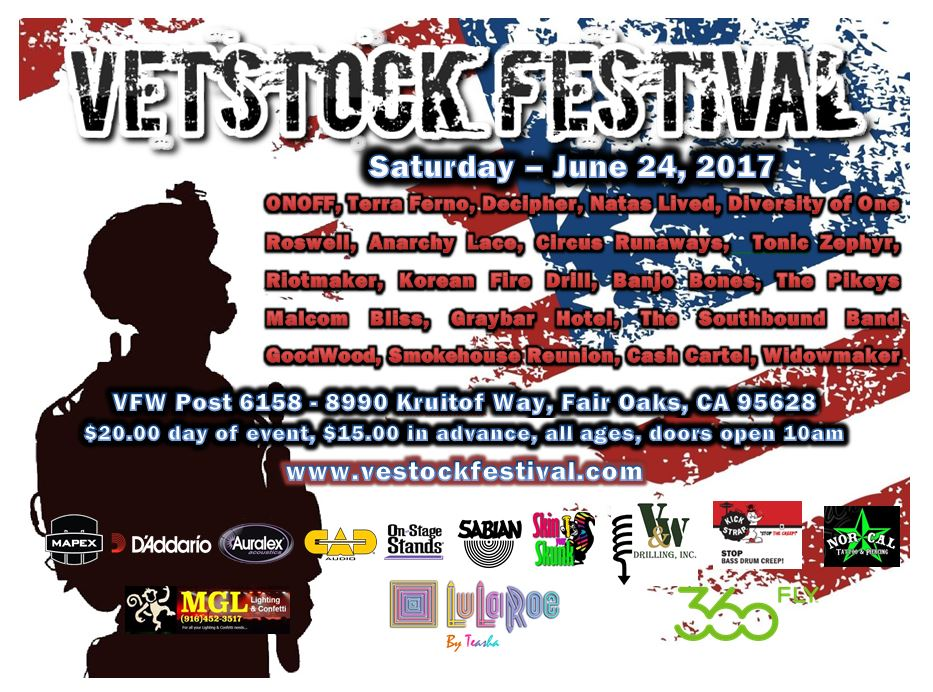 OnOff To Headline 2017 Vetstock Festival InSacramento