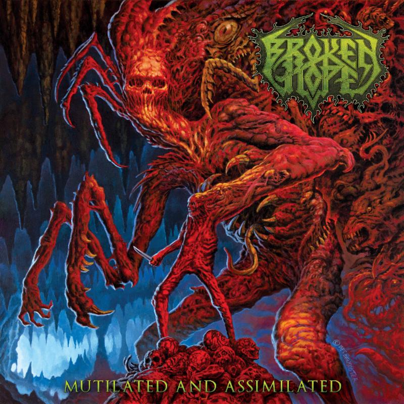 "Broken Hope premiere title track ""Mutilated and Assimilated"""