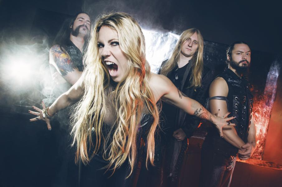 "KOBRA AND THE LOTUS Reveal Lyric Video For New Song ""Thundersmith"""