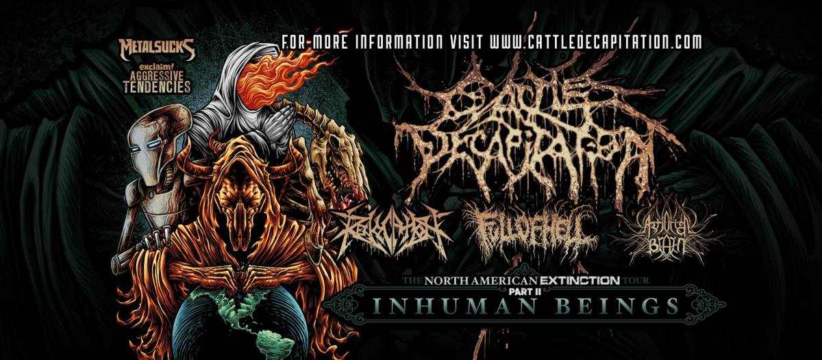Cattle Decapitation Announces Headlining Tour With Revocation