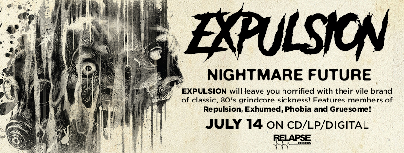 Expulsion shares a new track from their album Nightmare Future