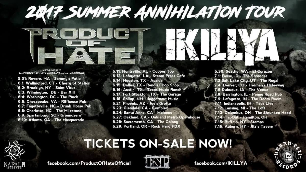 Watch Product Of Hate Perform A Full Set In Sacramento,California