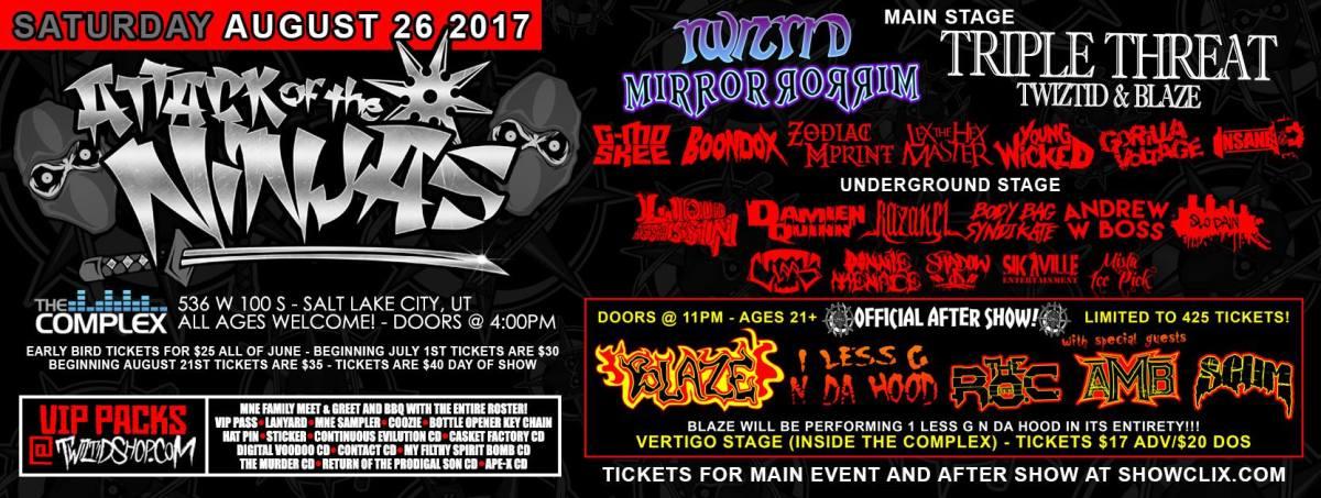 """Twizted Announces 2017 """"Mostasteless"""" Tour"""