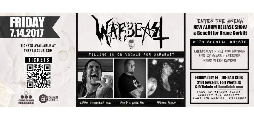 Warbeast to release their long-waited new full-length, Enter The Arena