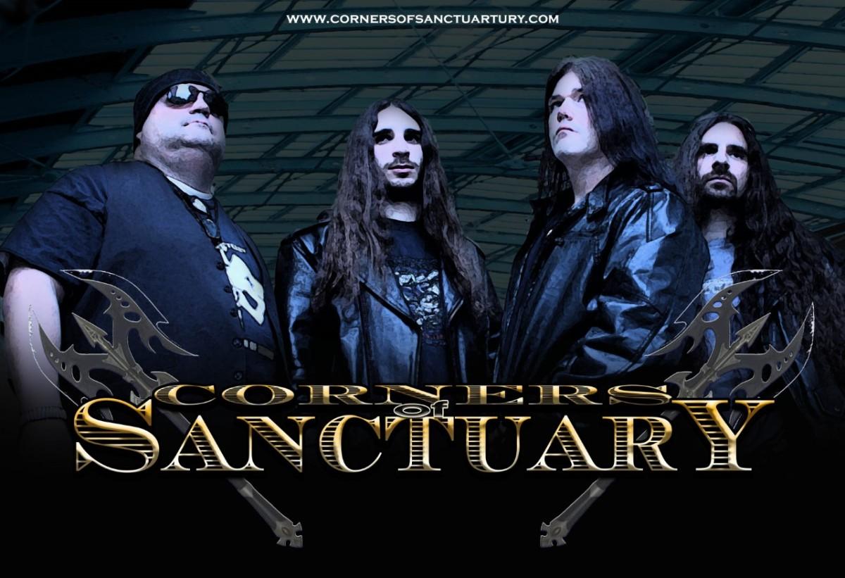 Guitarist Mick Michaels of Corners Of SanctuaryInterviewed