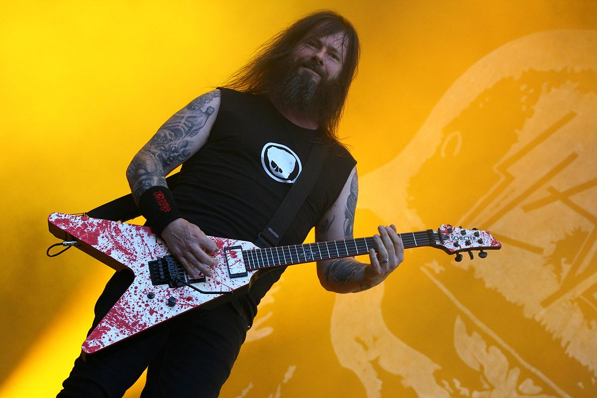 Gary Holt of Exodus: It's a little outside the box. It's really super crushing, but I think people will besurprised.