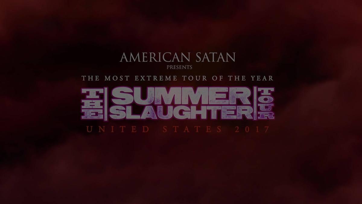 The Black Dahlia Murder Kick Off Summer Slaughter Tour2017