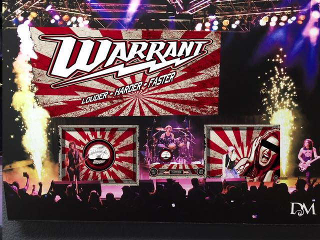 Jerry Dixon of Warrant Talks New Music, Cover Songs, the Internet and more.