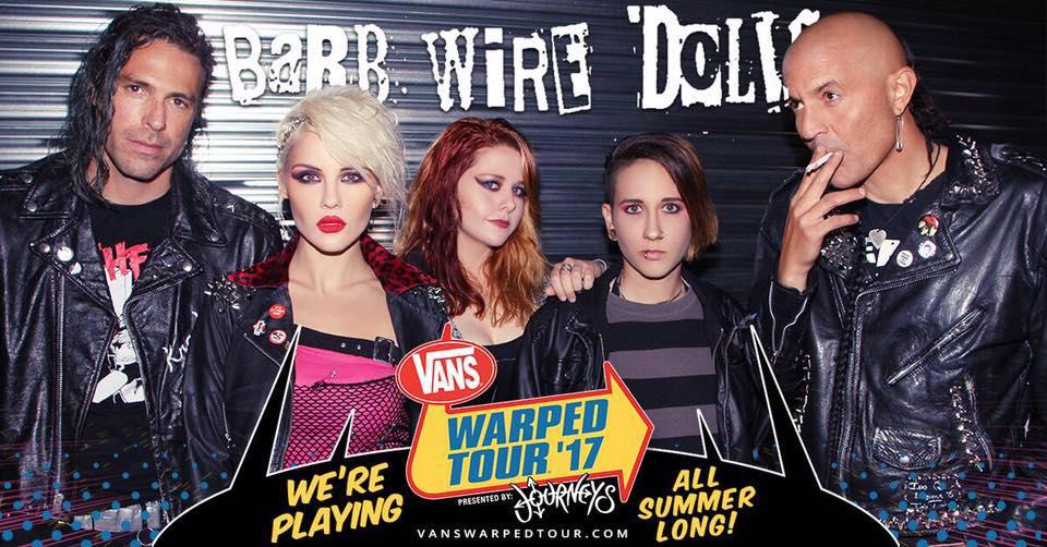 Isis Queen of Barb Wire Dolls Interviewed @ Vans Warped Tour2017