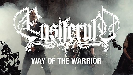 """Ensiferum launches new video for """"Way Of TheWarrior"""""""