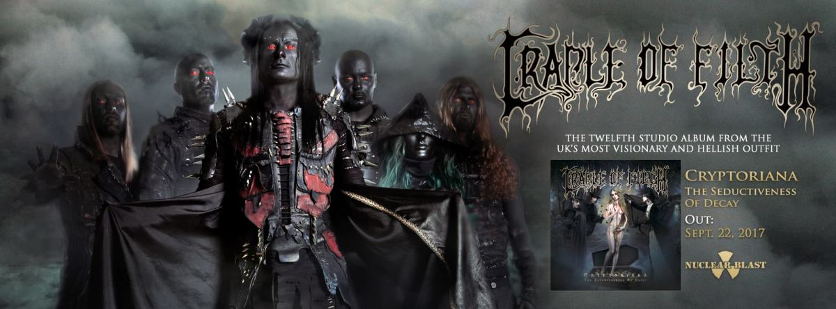 """Cradle Of Filth release lyric video for """"Achingly Beautiful"""""""