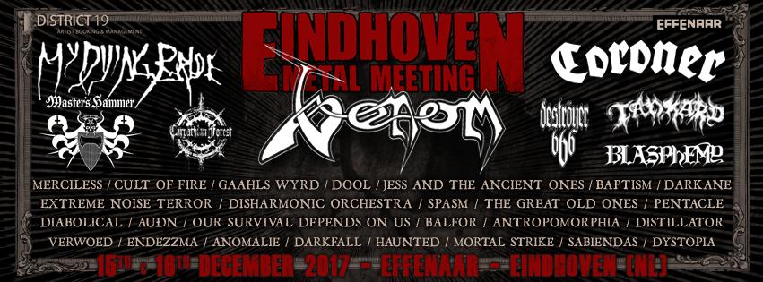Eindhoven Metal Meeting Completes LineUp