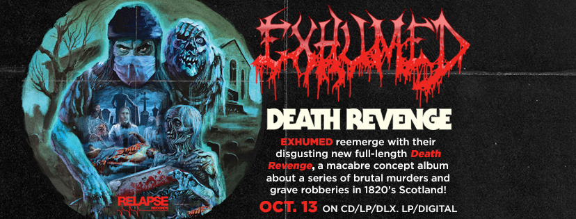 "Exhumed ""Death Revenge"" in Richmond, Virginia – Live Show Review"