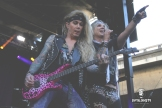 Michael Starr & Lexxi Foxx of Steel Panther @ Aftershock 2017