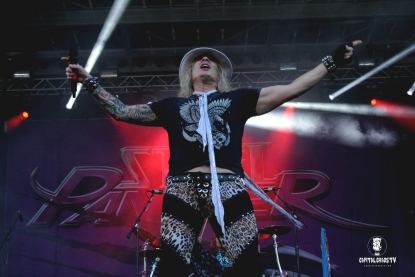 Michael Starr of Steel Panther @ Aftershock 2017