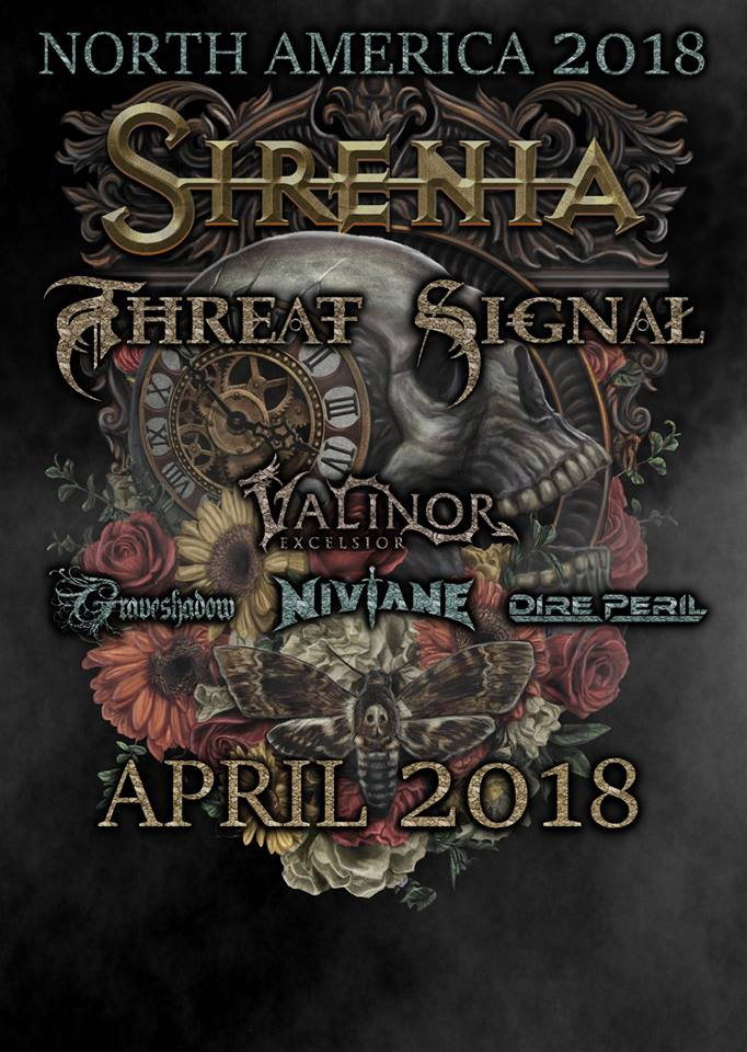 Niviane Announce North American Tour With Sirenia And Threat Signal