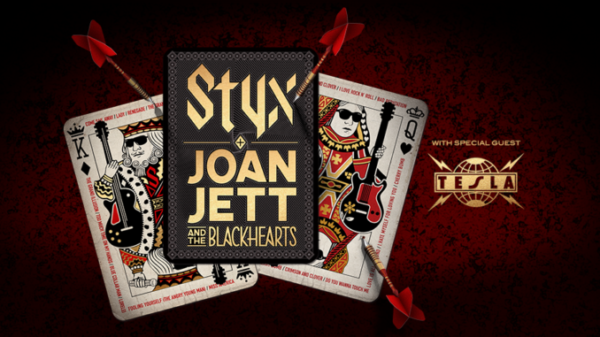 STYX and JOAN JETT & THE BLACKHEARTS To Co-Headline U.S. Summer Tour