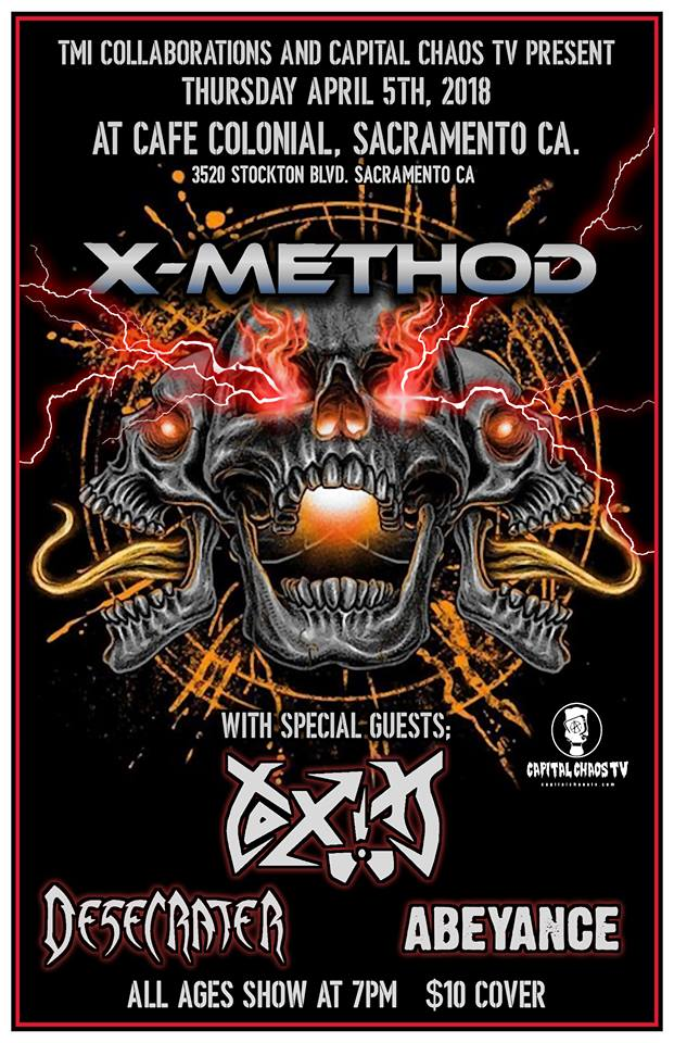 New Hd Video Of Exhumed Live In Oakland  Capital Chaos Tv-1423