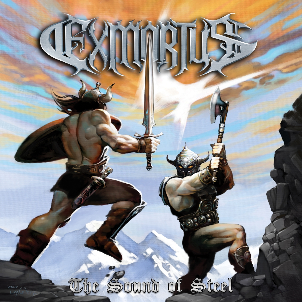 """Jadran """"Conan"""" Gonzalez of Exmortus """"Expect your mind to be blown. To melt from all the shredding."""""""