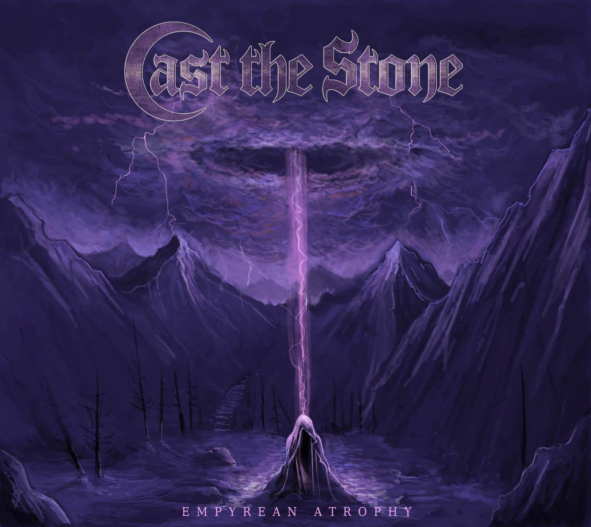 "CAST THE STONE, Featuring Members of Misery Index, ex-Cattle Decapitation and Scour, Premiere Lyric Video For New Track ""As The Dead Lie"""