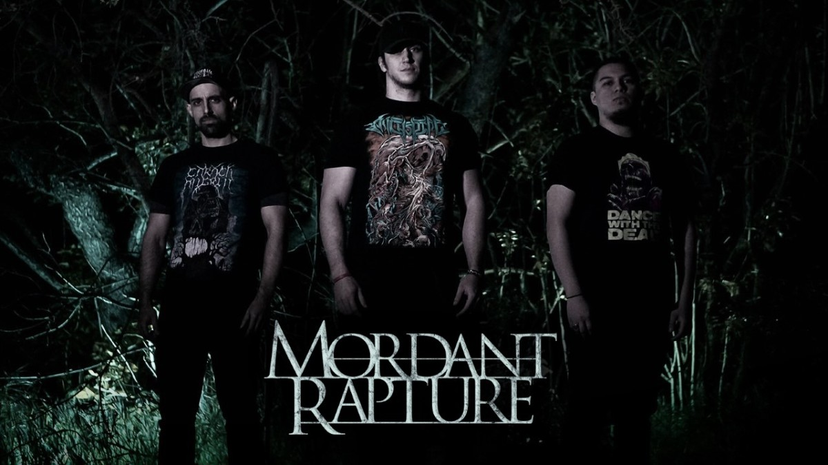 """Rod, Kent and Ben of Mordant Rapture """"Take the bull by the horns…and fuckit."""""""