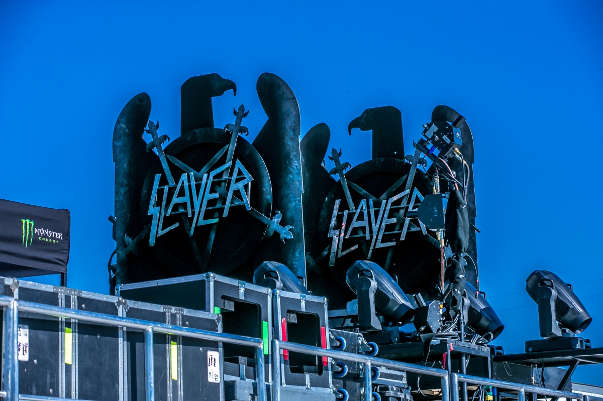 Concert Photo Review: Slayer at Papa Murphy Park – Sacramento