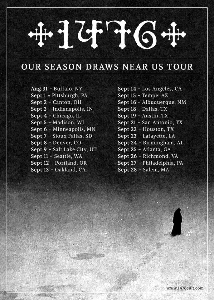 1476's Fall US TourAnnounced