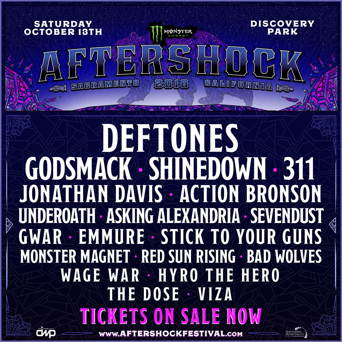 Win Aftershock Weekend Tickets